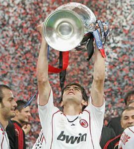 Kaka Uefa Champion